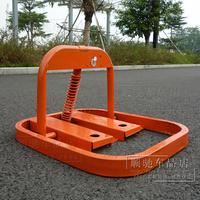 Manual large anti-collision parking lock car lock to lock the pile parking lock parking lock