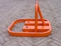 0 manual parking lock parking lock bollard to lock the pile triangle lock