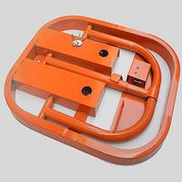 O parking lock manual mechanical thickening lockable parking lock mechanical lock parking lock