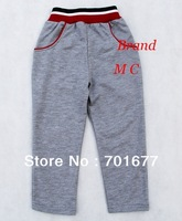 aged 2-6 2013 new spring autumn brand M C logo cotton pants children tracksuit bottoms 5#13051401