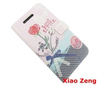 2014 Pink Love Letter Synthetic Flip Leather Case Romantic for iPhone 4 4G 4S