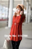 Женское платье autumn women's slit neckline sexy slim hip slim knit dress fashion one-piece dress personality