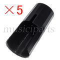 freeshipping 5PCS BLACK Bb Clarinet Mouthpiece cap clip fastener ,CLARINET PARTS