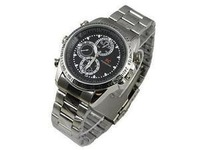 New Spy Watch Video Recorder 8GB Hidden Camera DVR Waterproof Camcorder Steel