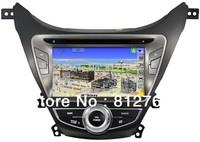 "8"" Car dvd player for Hyundai Elantra 2012 I35 with GPS,Bluetooth,Ipod,TV,Radio,3G USB Host,free shipping"