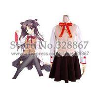 Fatestay night Homurabara Gakuen Girl's Uniform Cosplay Costume