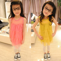 2013 free Child xuanliang female princess flower girl    dress