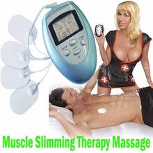 Electric Body Care Herapy Slimming Massager Pulse Muscle Pain fitness Relief Fat Burn Relaxation Arm leg