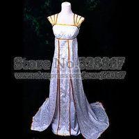 FateZero Irisviel von Einzbern Floor-length Dress Cosplay Costumes