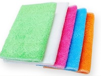 New arrival  wholesale double layers 10pcs/lot 18*23cm bamboo fiber dishcloth+promotion dish towel