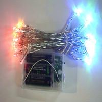 Free shipping-4.5V (4 colors) 3 m 30 LED bulb string lights Lighting >> Outdoor Lighting >> Lighting line