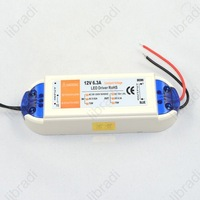 1pcs 12V 6.3A 75W Power Supply AC/DC adaptor transformer for RGB or LED Strip or LED Light