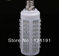 5pcs  Free Shipping 110V/220V E14 led light 108 leds corn light LED bulb lamp cold white led spotlight
