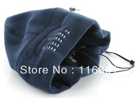 20PCS EMS Free shipping Hot Sell Beanie with Built-in Headphones Blue