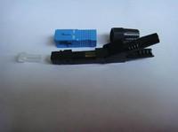 Wholesale SC quick splice connector (straight-through) FTTH fiber optic SC quick connectors 50 pcs/lots