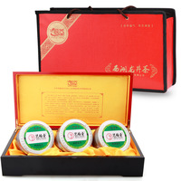 Tea gift box 2013 tea gift box west lake longjing tea first level 150g logs of wood gift box