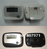 LCD Counter Electronic Digital Pedometer Mini Single Function Step Run Pedom Counter to 99999 50pcs