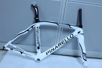 2012 Pinarello Dogma 2 60.1 White Black Carbon Frame+Fork+Seatpost+Clamp+Headset on Sale