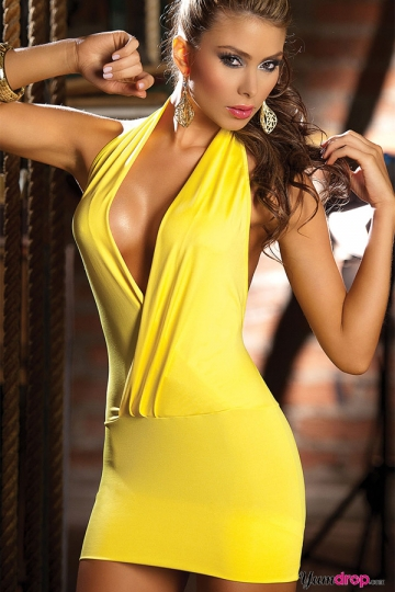 Free Shipping wholesale beautifull sexy costume backless clubwear sexy party dress N019(China (Mainland))