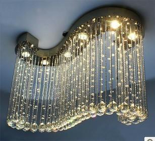Crystal lamp pendant light restaurant lamp crystal pendant light lamps bedroom lamp living room lights(China (Mainland))