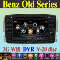 Car DVD Player autoradio GPS for Benz W203 Viano W168 CLC209 W209 W463 + 3G WIFI + V-20 Disc + 1GB cpu + DDR 512M RAM + A8
