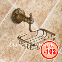 Free Shipping Wholesale / Retail Antique soap net antique soap holder fashion bathroom accessories antique soap dish wall mount