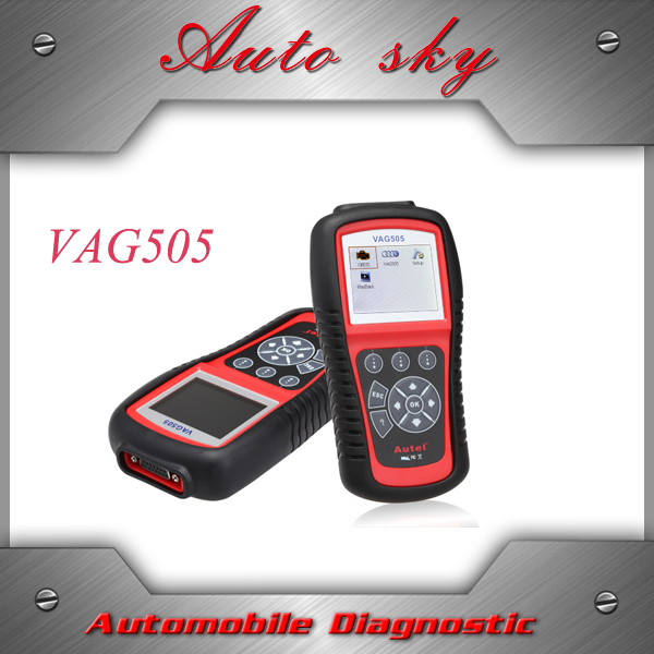 Autel MaxiService VAG505 Scan Tool Diagnostic OBDII Code Reader VAG505 Troubleshooter codes free online updates(China (Mainland))