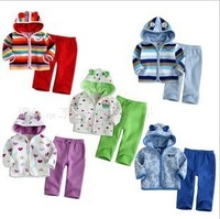2013 Free shipping NEW Baby&#39;s clothing set(coat+pants),baby suit, Baby Wear