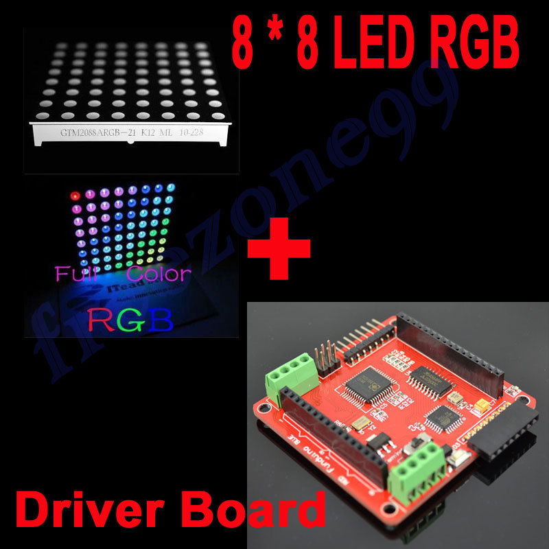 8 x 8 RGB Dot Matrix Module for Arduino Works with