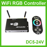 Wholesale + WiFi RF LED RGB Touch Controller For Strip Light by iphone or ipad's IOS & Android system