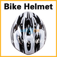 NEW Road Cycling Bicycle Adult Men Bike Helmet With Visor Black & White