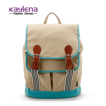 Free Shipping! Brand New waterproof canvas casual backpack, lovely bags women's handbag