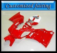 Customized fairing -Free shipping red bodaywork fairing kit for 1993 - 2005 DUCATI 748 916 996 998 fairings