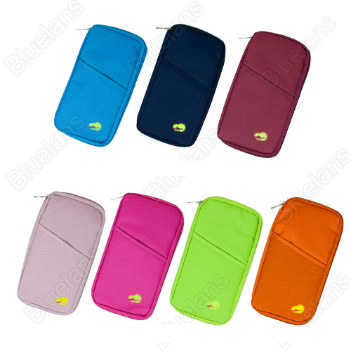 Top Sale Fashion New Travel Wallet Passport Card Ticket Luggage Tag Holder Document Organizer Bag Purse Case Handbag 10pcs/lot(China (Mainland))