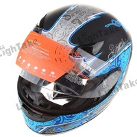 Free shipping YEMA 823 Motorcycle Riding  Helmet Safety Helmet  Blue  (Size L)