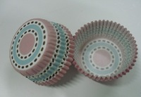 free shipping lastest new arrival 800pcs cute 3inch multiple circle cakecup baking paper cup muffin cases for party
