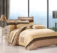 1200TC EGYPTION COTTON  bedding set luxury,Include Duvet Cover Bed sheet Pillowcase,,King Queen Full Twin,Free shipping  UN1-1