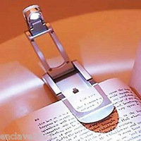 1pcs Mini LED Foldable Book Reading Clip Lamp Night Light CMA00175