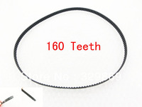 320XL 10mm Width 5.08mm Pitch 160 Teeth Black Synchronous Timing Belt