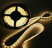 promotion! Warm White light 5M/roll non-Waterproof Epoxy led string SMD 3528 300 LED Strip Lighting