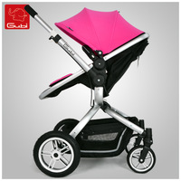 Gubi baby stroller baby carriage light trolley four wheel baby stroller folding  Light Baby Buggy