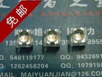 Find Home 5mm piranha 3 core high brightness yellow led light emitting diode