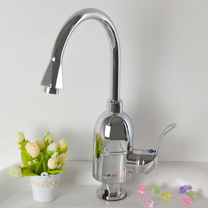 Kdr-2kf series silver hot electric heating faucet leakage protection plumbing hose(China (Mainland))