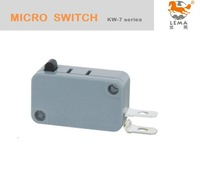 KW-7-0F  UL approval two terminals SPST NO 5A electrical micro switch