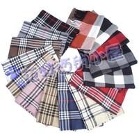 Star plaid cashmere scarf tassel long male 130g