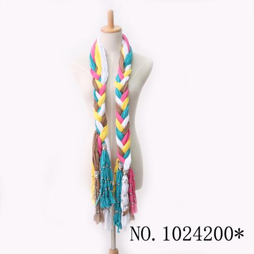 O envio gratuito de 12 pçs/lote moda rayon fiado acessórios plissadas seda frisado borlas lenço silencioso das mulheres(China (Mainland))