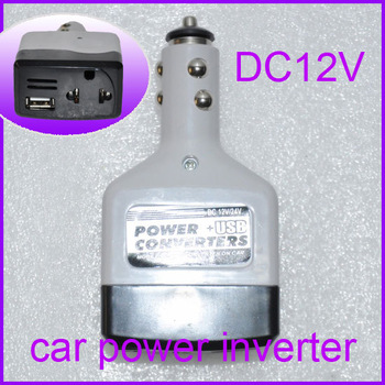 Dc to Ac Power Inverter For Car Charger 12V to 220V 15W Modified Sine Wave Power Inverter