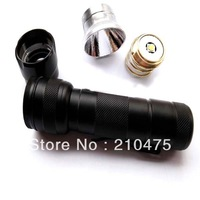 Newest UltraFire 502B CREE XM-L2 U2 1400LM 3-Mode SMO LED Flashlight.LED Torch (1 x 18650)