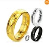 The Lord of the Rings different color different materil  Men Tungsten Gold Rings  Hot Selling Wholesale Price sjze7/8/9/10/11/12