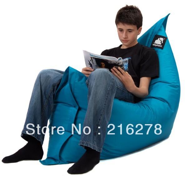 Wholesale Junior reading bean bag chair, portable modern beanbag seat - free shipping(China (Mainland))